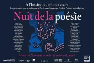 nuitpoésie 300x202 - La Nuit de la poésie à l'Institut du monde arabe