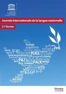 Journée langue maternelle 212x300 - Nous sommes le 21 février, journée internationale de la langue maternelle