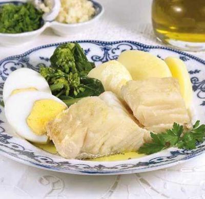 Morue pommes de terre - Une recette de bacalhau cozido